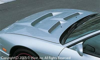 180SX - Hoods - C-West - Aero Bonnet