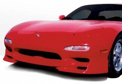 RX7 - Front Bumper - VIS Racing - Mazda RX-7 VIS Racing W-Type Front Lip - 490100