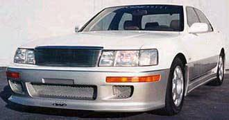 LS400 - Front Bumper - Wings West - Lexus LS Wings West Front Bumper Cover - Fiberglass - 490101