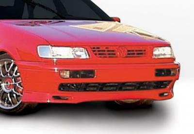 Passat - Front Bumper - Wings West - Volkswagen Passat Wings West Custom Front Air Dam - 490133