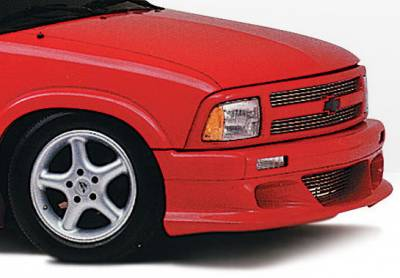 S10 - Front Bumper - Wings West - Chevrolet S10 Wings West Custom Style Front Air Dam - 890001