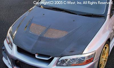 Lancer - Hoods - C-West - Aero Bonnet
