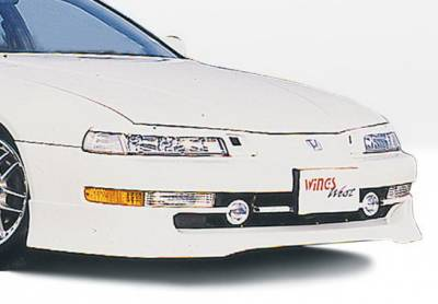 Prelude - Front Bumper - Wings West - Honda Prelude Wings West Racing Series Front Air Dam - 890097