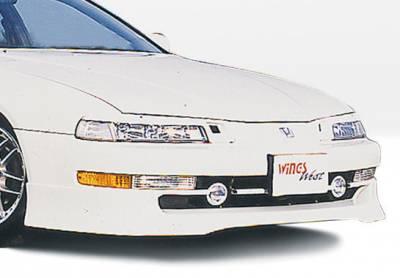 Prelude - Front Bumper - VIS Racing - Honda Prelude VIS Racing Racing Series Front Lip - Polyurethane - 890097