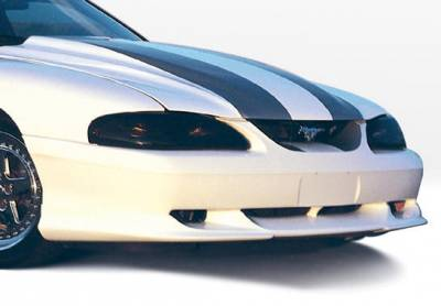 Mustang - Front Bumper - VIS Racing - Ford Mustang VIS Racing Custom Style Front Lip - Polyurethane - 890110
