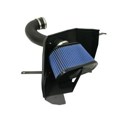 Air Intakes - Oem Air Intakes - aFe - Ford Mustang aFe MagnumForce Pro-Dry-S Stage 2 Air Intake System without Cover - 51-10293