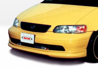 Odyssey - Front Bumper - VIS Racing - Honda Odyssey VIS Racing Custom Front Lip - Polyurethane - 890119