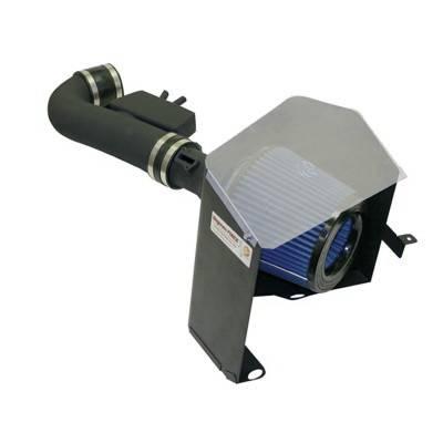Air Intakes - Oem Air Intakes - aFe - Nissan Titan aFe MagnumForce Pro-Dry-S Stage 2 Air Intake System - 51-10312