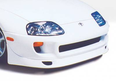 Supra - Front Bumper - Wings West - Toyota Supra Wings West Custom Front Air Dam - 890156
