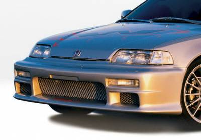 Civic HB - Front Bumper - Wings West - Honda Civic HB Wings West Racing Series Front Bumper Cover - 890176