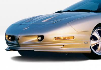 Firebird - Front Bumper - VIS Racing - Pontiac Firebird VIS Racing W-Type Front Lip - Polyurethane - 890188