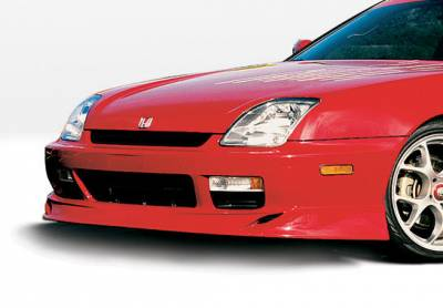 Prelude - Front Bumper - VIS Racing - Honda Prelude VIS Racing Racing Series Front Lip - Polyurethane - 890203
