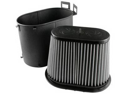 Air Intakes - Oem Air Intakes - aFe - Ford F250 aFe MagnumForce Pro-Dry-S Stage 1 Air Intake System - 51-10391