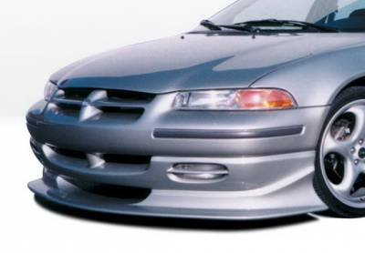 Stratus 2Dr - Front Bumper - Wings West - Dodge Stratus Wings West Touring Style Front Air Dam - 890211