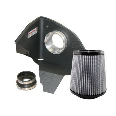Air Intakes - Oem Air Intakes - aFe - BMW 5 Series aFe MagnumForce Pro-Dry-S Stage 1 Air Intake System - 51-10471
