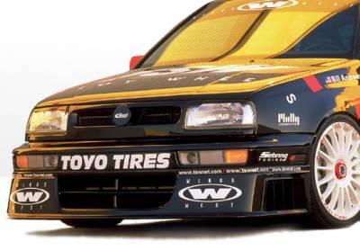 Jetta - Front Bumper - VIS Racing - Volkswagen Jetta VIS Racing Touring Front Lip - 890221