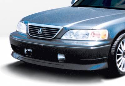 RL - Front Bumper - VIS Racing - Acura RL VIS Racing W-Type Front Lip - Polyurethane - 890259