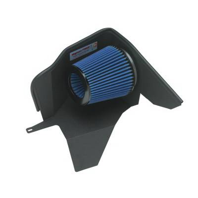 Air Intakes - Oem Air Intakes - aFe - BMW 5 Series aFe MagnumForce Pro-Dry-S Stage 1 Air Intake System - 51-10601