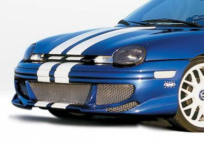 Neon 2Dr - Front Bumper - Wings West - Dodge Neon Wings West Racing Series Front Bumper Cover - 890292