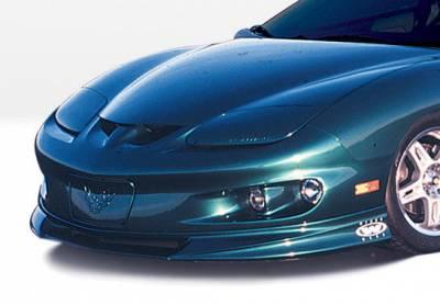 Firebird - Front Bumper - VIS Racing - Pontiac Firebird VIS Racing W-Type Front Lip - Polyurethane - 890305