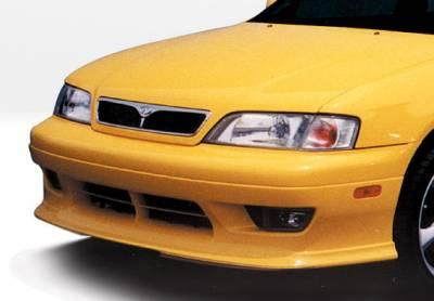 G20 - Front Bumper - VIS Racing - Infiniti G20 VIS Racing W-Type Front Lip - Polyurethane - 890313