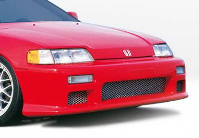 CRX - Front Bumper - Wings West - Honda CRX Wings West Racing Series Front Bumper Cover - 890327