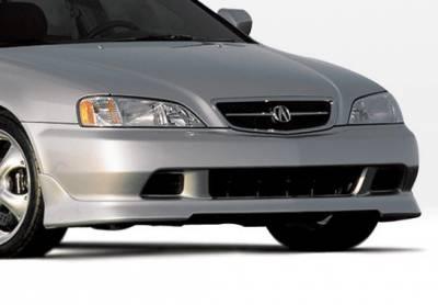 TL - Front Bumper - VIS Racing - Acura TL VIS Racing W-Type Front Lip - Polyurethane - 890340
