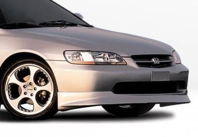 Accord 4Dr - Front Bumper - VIS Racing - Honda Accord 4DR VIS Racing W-Type Front Lip - Polyurethane - 890345