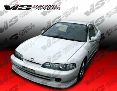Integra 2Dr - Front Bumper - VIS Racing - Acura Integra VIS Racing JDM Type R Front Lip - Polyurethane - 890356