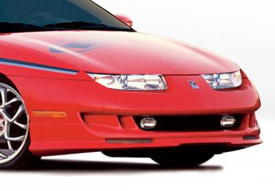 SC Coupe - Front Bumper - VIS Racing - Saturn SC Coupe VIS Racing W-Type Front Lip - Polyurethane - 890388