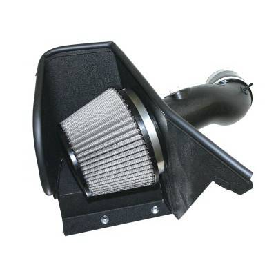 Air Intakes - Oem Air Intakes - aFe - BMW 5 Series aFe MagnumForce Pro-Dry-S Stage 2 Air Intake System - 51-11042