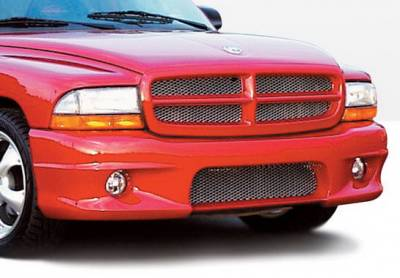 Dakota - Front Bumper - Wings West - Dodge Dakota Wings West W-Type Front Bumper Cover - 890420