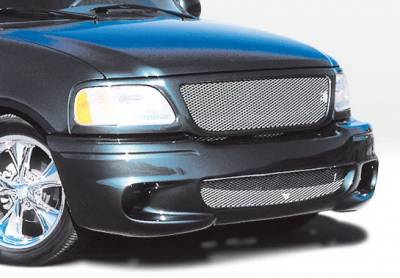 F150 - Front Bumper - Wings West - Ford F150 Wings West Lightning Style Front Bumper Cover - 890430