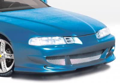 Prelude - Front Bumper - VIS Racing - Honda Prelude VIS Racing Bigmouth Front Bumper Cover - 890431