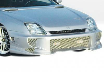 Prelude - Front Bumper - Wings West - Honda Prelude Wings West Aggressor Type II Front Bumper Cover - 890432
