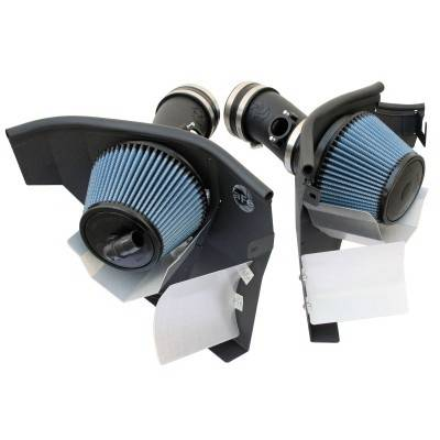 Air Intakes - Oem Air Intakes - aFe - BMW 5 Series aFe MagnumForce Pro-Dry-S Stage 2 Air Intake System - 51-11272