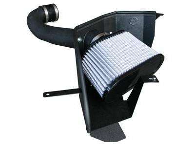 Air Intakes - Oem Air Intakes - aFe - Ford Mustang aFe MagnumForce Pro-Dry-S Stage 2 Air Intake System - 51-11312