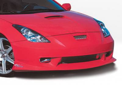 Celica - Front Bumper - Wings West - Toyota Celica Wings West W-Type Front Air Dam - 890466