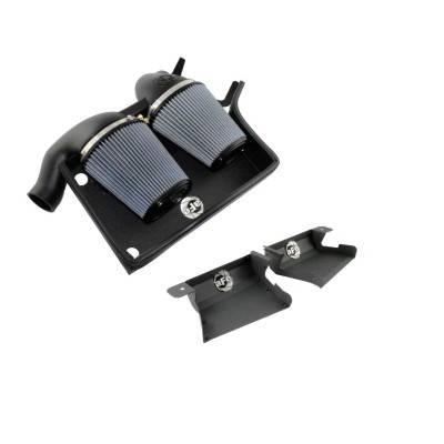 Air Intakes - Oem Air Intakes - aFe - BMW 3 Series aFe MagnumForce Pro-Dry-S Stage 2 Air Intake System - 51-11473