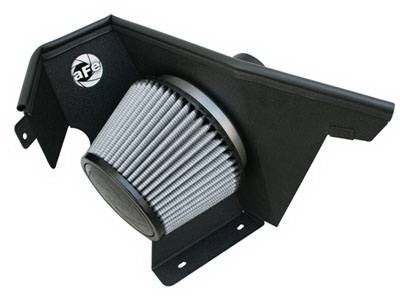 Air Intakes - Oem Air Intakes - aFe - BMW 5 Series aFe MagnumForce Pro-Dry-S Stage 2 Air Intake System - 51-11572