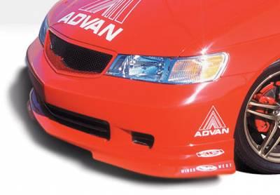 Odyssey - Front Bumper - VIS Racing - Honda Odyssey VIS Racing W-Type Front Lip - Polyurethane - 890496