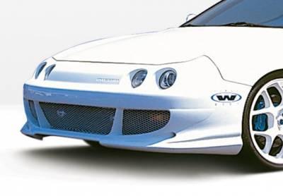 Integra 2Dr - Front Bumper - VIS Racing - Acura Integra VIS Racing Bigmouth Front Bumper Cover - 890505