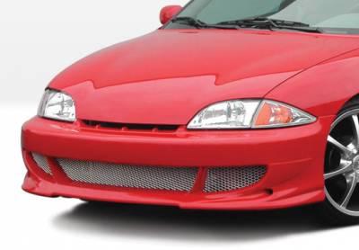 Cavalier 2Dr - Front Bumper - VIS Racing - Chevrolet Cavalier VIS Racing Bigmouth Front Bumper Cover - 890510