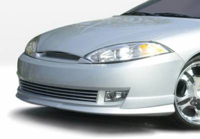 Cougar - Front Bumper - Wings West - Mercury Cougar Wings West W-Type Front Air Dam - 890520