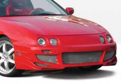 Integra 2Dr - Front Bumper - VIS Racing - Acura Integra VIS Racing Avenger Front Bumper Cover - 890563