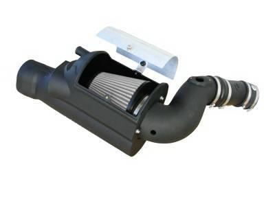 Air Intakes - Oem Air Intakes - aFe - Ford F350 aFe MagnumForce Pro-Dry-S Stage 2 SI Air Intake System - 51-80392