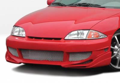 Cavalier 2Dr - Front Bumper - VIS Racing - Chevrolet Cavalier VIS Racing Avenger Front Bumper Cover - 890584