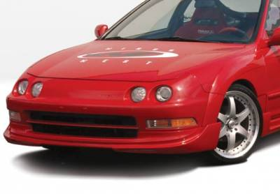 Integra 2Dr - Front Bumper - VIS Racing - Acura Integra VIS Racing G5 Series Front Lip - Polyurethane - 890620