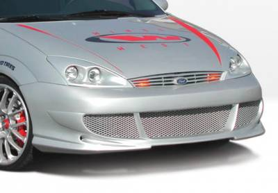 Focus 4Dr - Front Bumper - VIS Racing - Ford Focus VIS Racing Bigmouth Front Bumper Cover - 890633