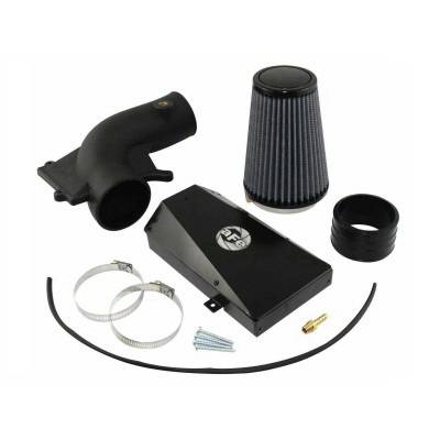 Air Intakes - Oem Air Intakes - aFe - Volkswagen Jetta aFe MagnumForce Pro-Dry-S Stage 2 SI Air Intake System - 51-81711